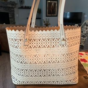Stella & Dot Perforated Tote